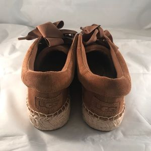 UGG Shoes - UGG the Brianna Laceup Espadrilles Sz 9